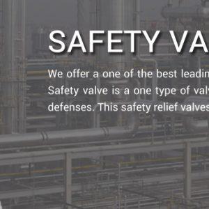 safety valve manufacturer